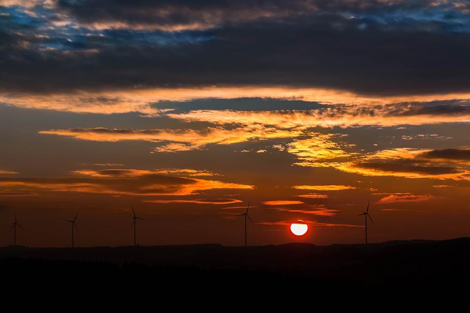 La lluvia y la energía solar