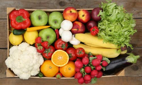 Mantén una vida saludable, consume fruta ecológica